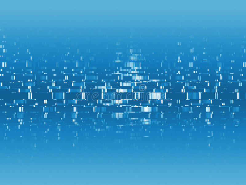 Blue Digital Info Royalty Free Stock Images
