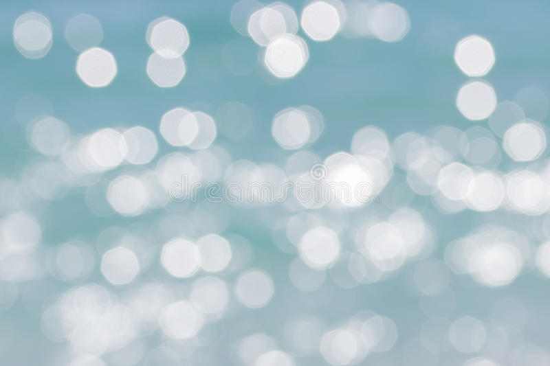 Blue disfocused abstract background. Blue disfocused abstract bokeh background stock photography