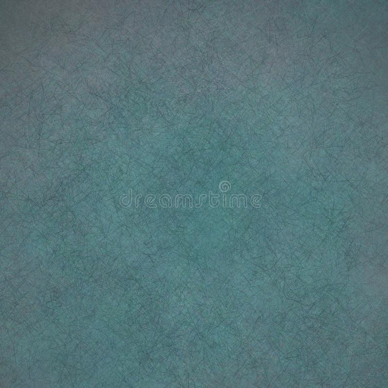 Blue distressed abstract background with texture royalty free illustration