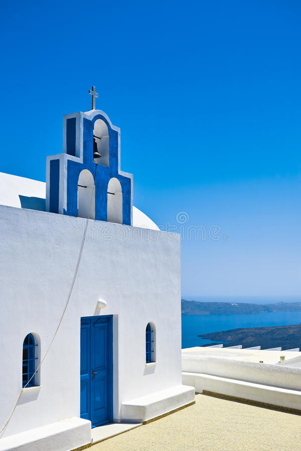 Blue Dome Church stock photography