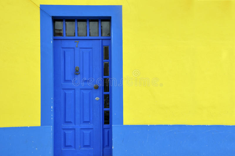 Download Blue door stock photo. Image of colorful, aveiro, portugal - 24182798