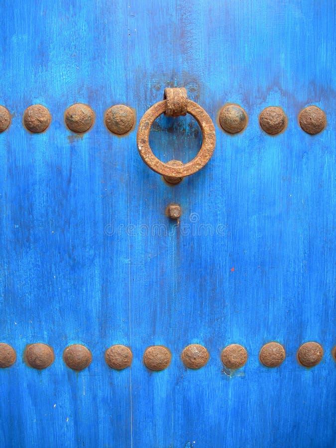 Blue door royalty free stock photo
