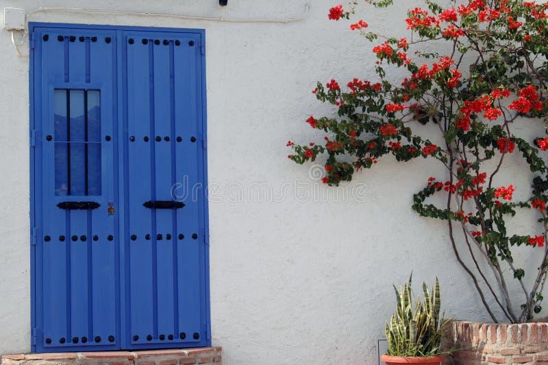 Blue Door royalty free stock image