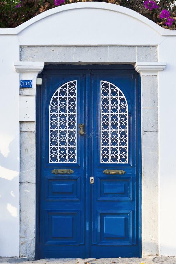 Download Blue doors stock photo. Image of blue, grill, door, wood - 21432388