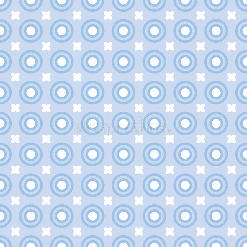 Blue dots vector illustration