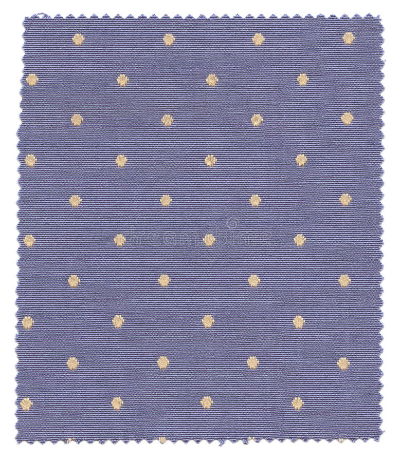 Download Blue Dotted Fabric Swatch stock photo. Image of canvas - 14595928