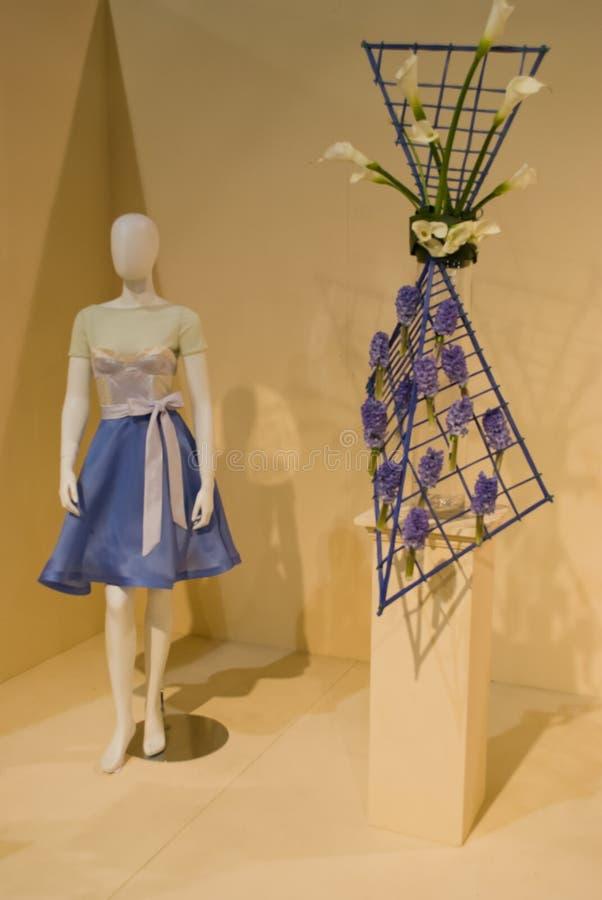 Download Blue Dress editorial stock image. Image of international - 18847414