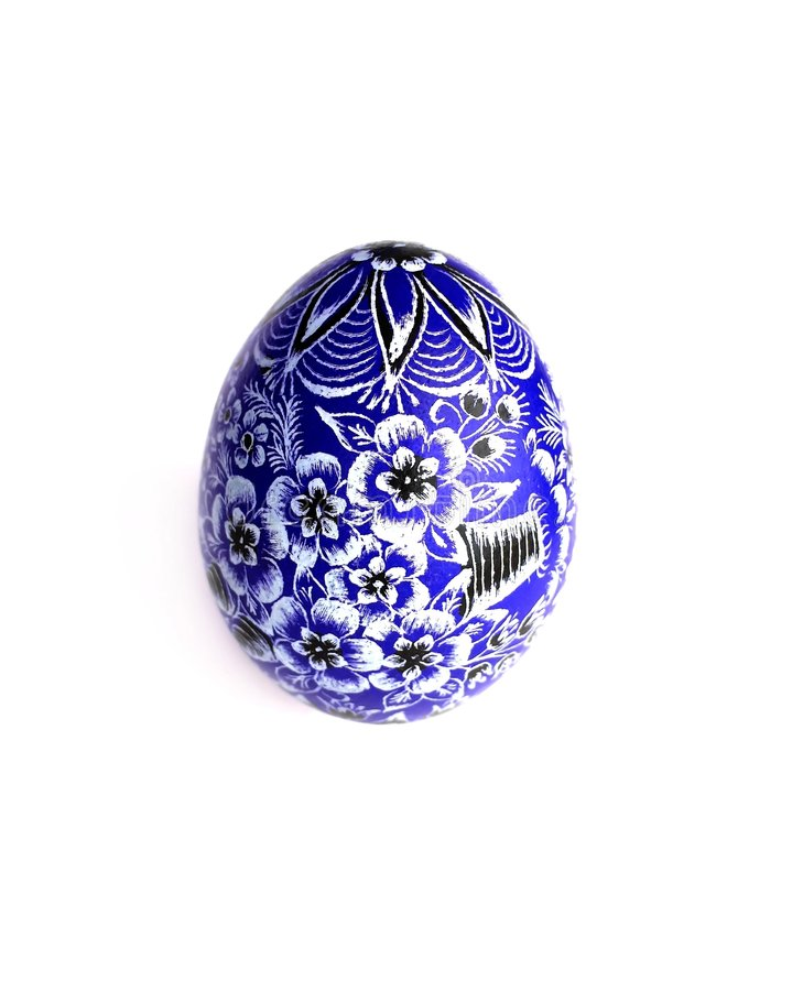 Free Blue Easter Egg Stock Photos - 4046683