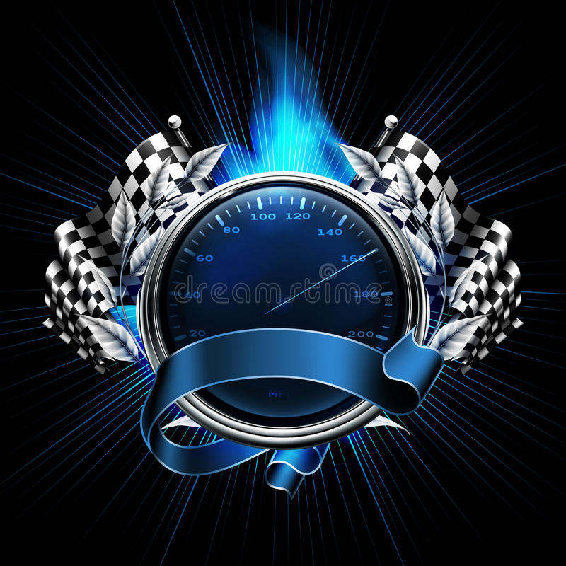 Free Blue Emblem Races Royalty Free Stock Photo - 24387435