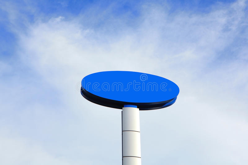Download Blue Empty Billboard Royalty Free Stock Photo - Image: 27075285
