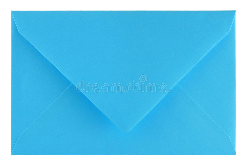 Download Blue envelope stock image. Image of letters, space, copy - 3691671