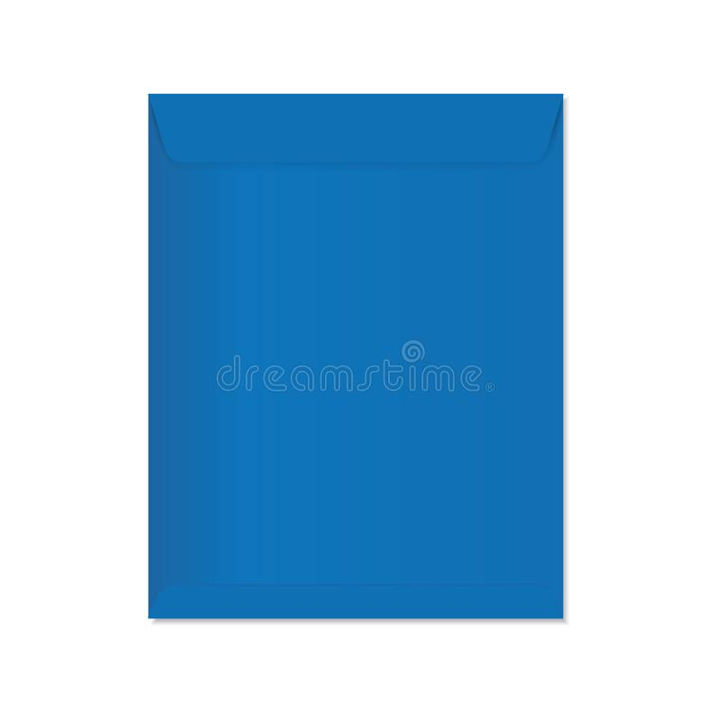 Blue Envelope stock illustration