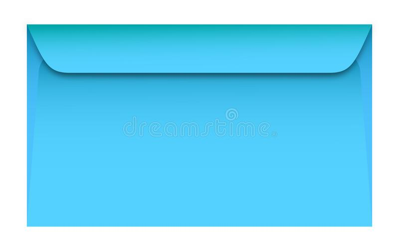 Blue envelopes look like they really are stock illustration