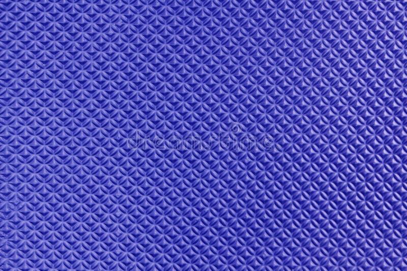 Blue Eva foam texture stock photo