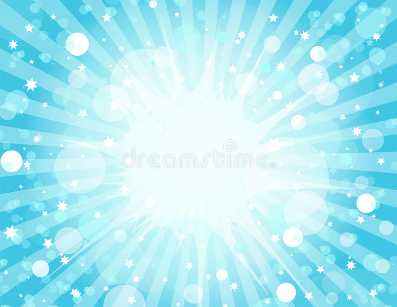 Download Blue Explosion Background stock vector. Illustration of display - 13798974