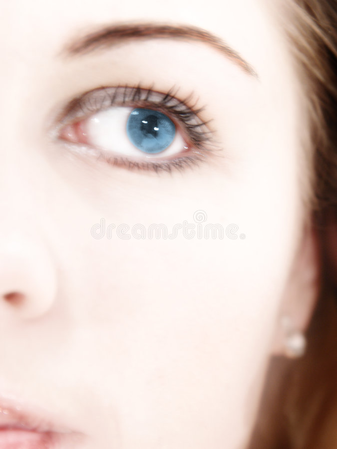 Download Blue Eye stock image. Image of half, body, person, blond - 101715