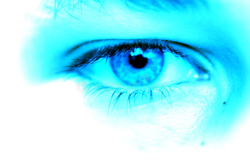 Download Blue Eye Royalty Free Stock Photography - Image: 13357
