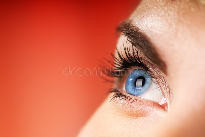 Download Blue eye stock photo. Image of health, background, expectation - 3942218