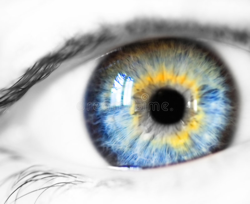Blue eye. Woman eye...girlfriend eye beautiful