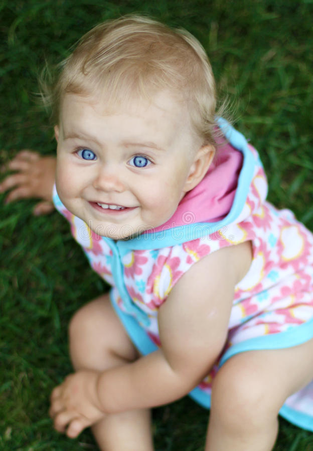 Download Blue eyed baby stock photo. Image of cute, small, adorable - 18407934