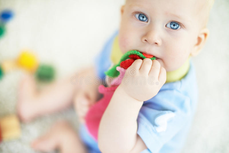 Download Blue-eyed Baby Stock Photo - Image: 33211540
