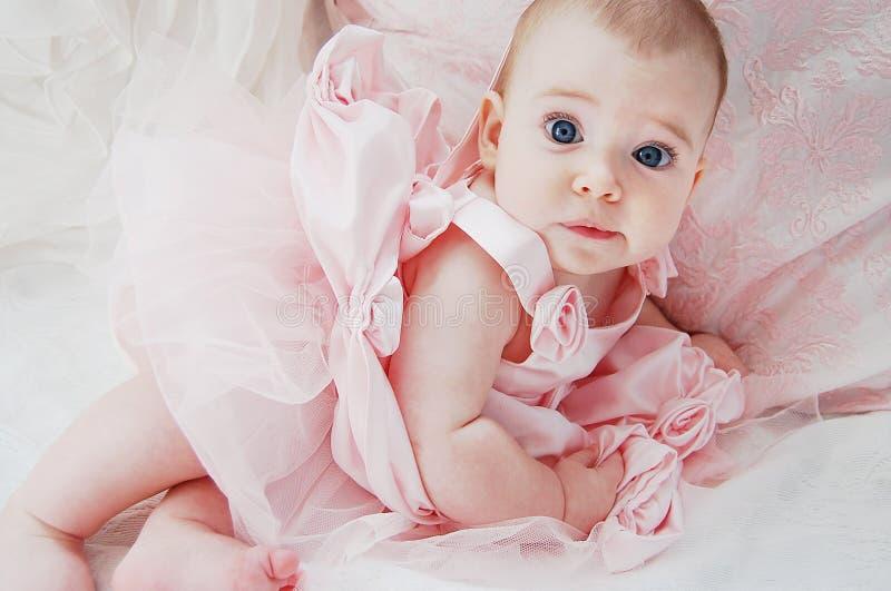 Blue Eyed Ballerina stock photo
