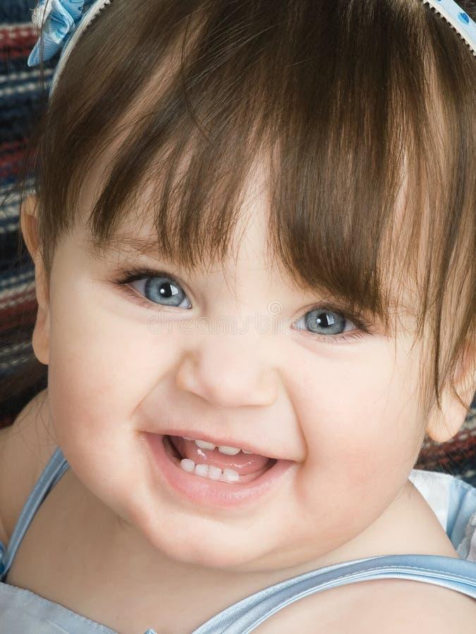 Download Blue eyed toddler stock image. Image of white, happy, offspring - 7912007