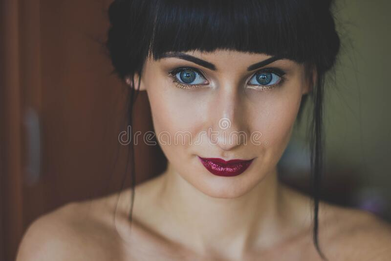 Blue Eyed Woman Free Public Domain Cc0 Image