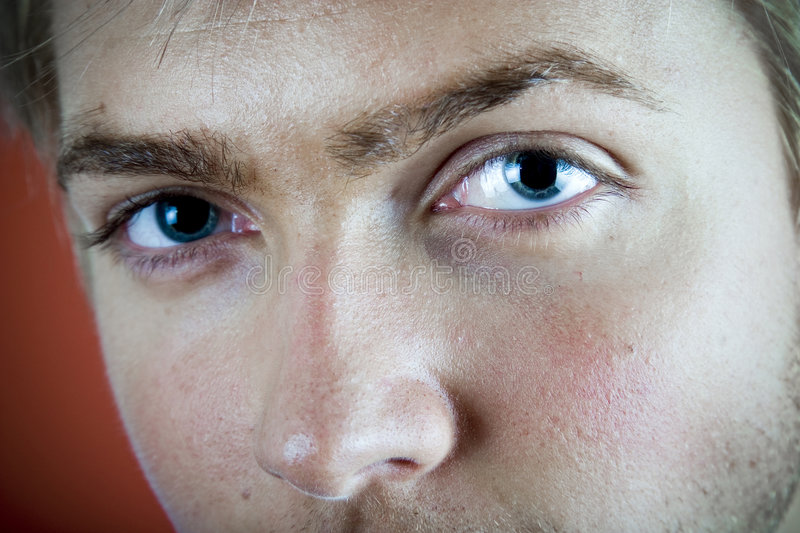Download Blue Eyes stock photo. Image of charming, interesting - 1698376