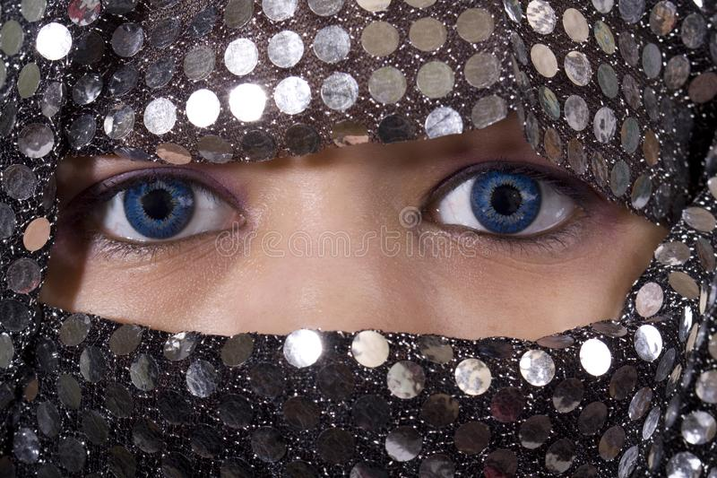 Download Blue eyes Orient stock photo. Image of islam, middle, culture - 8541416