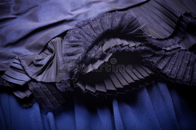 Download Blue Fabric With Ornament Royalty Free Stock Photos - Image: 27360138