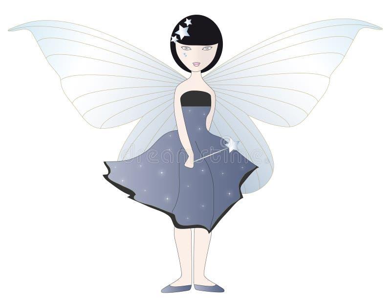 Blue Fairy stock illustration