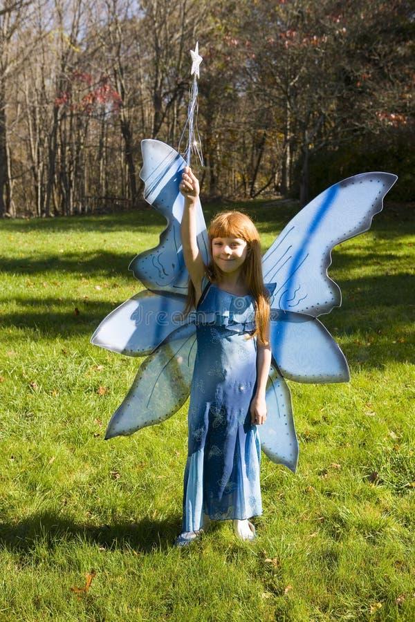 Blue Fairy stock photo