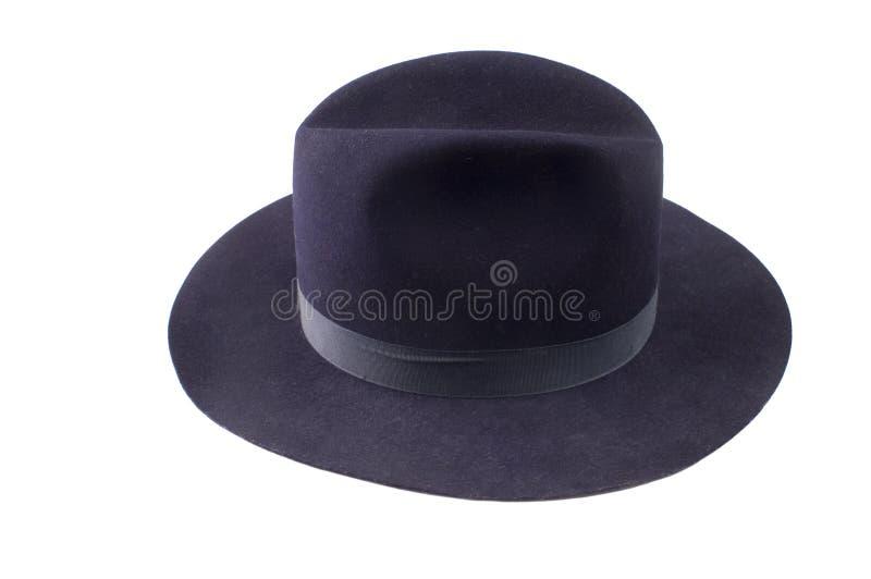 Download Blue Fedora Style Felt Hat Stock Images - Image: 8712904