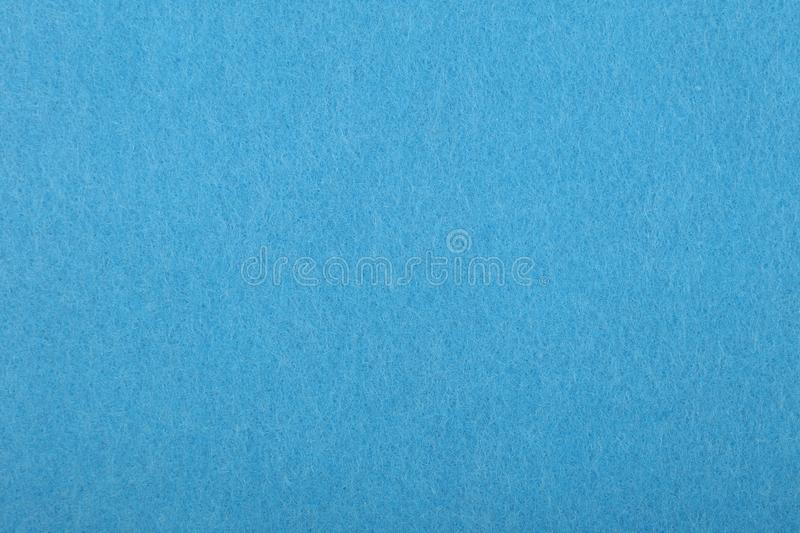 Blue felt background texture close up royalty free stock images
