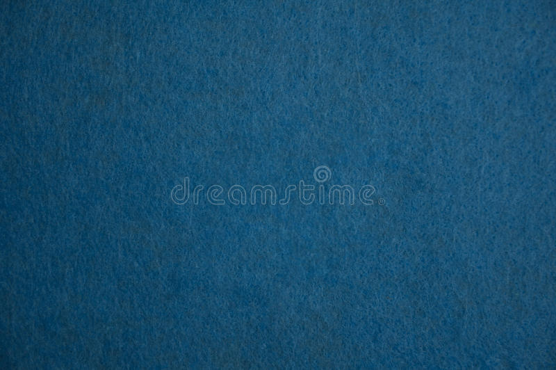 Blue felt texture stock photo
