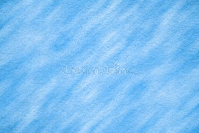 Blue felt texture with light pattern stock photos