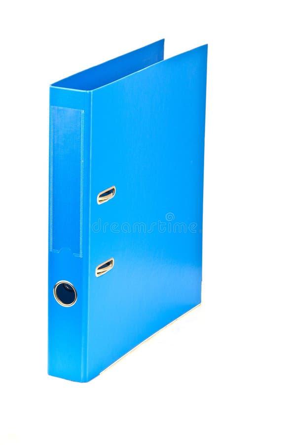 Blue file folder. Image of the blue file folder stock image