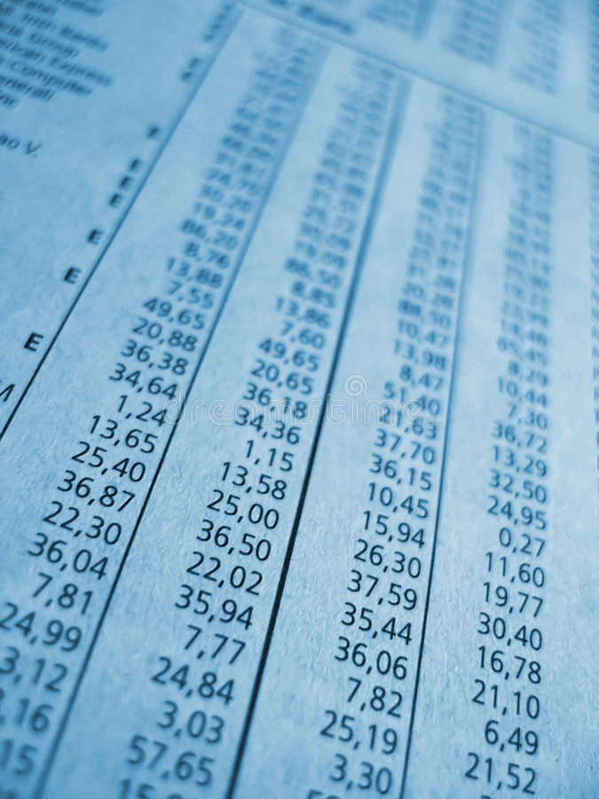 Free Blue Financial Figures Royalty Free Stock Photos - 1805088