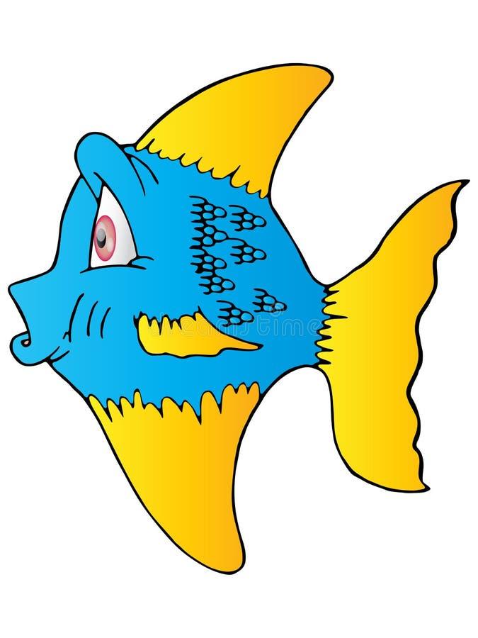 The Blue Fish Yellow Fin Stock Photos