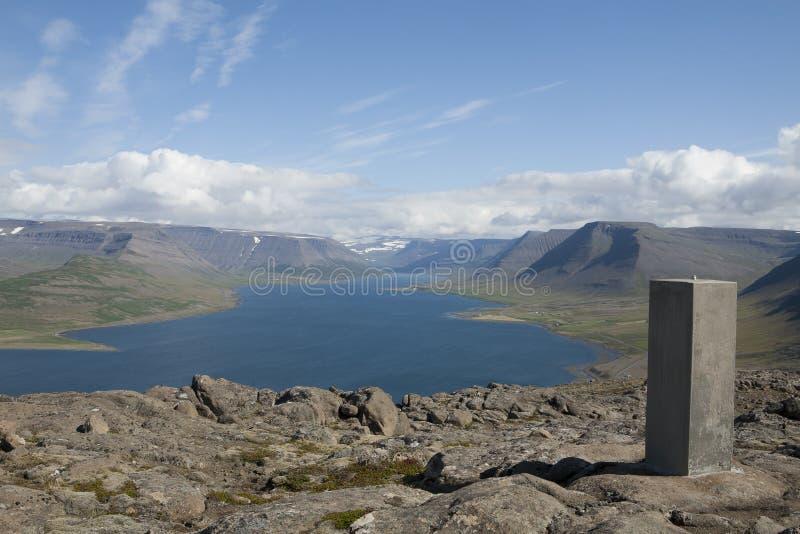Blue fjords Arctic Circle Iceland