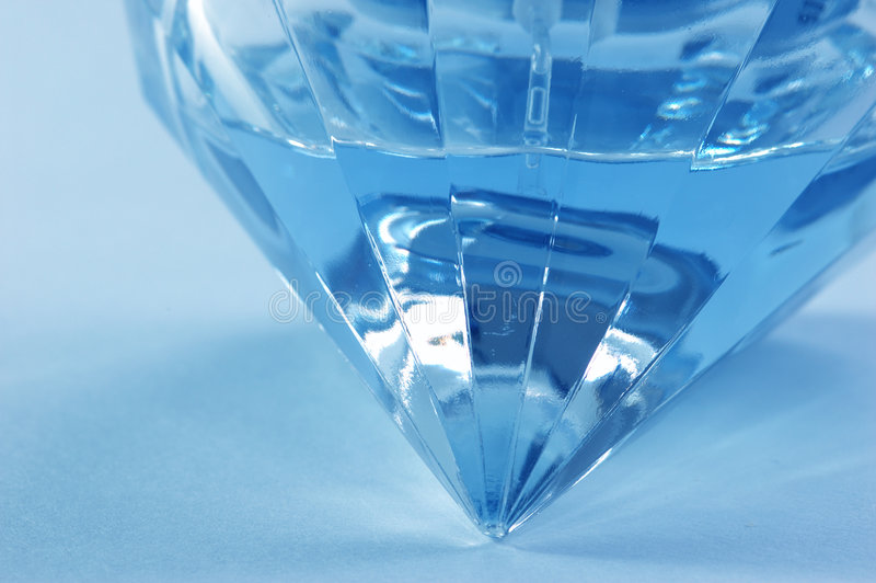 Blue flacon stock images