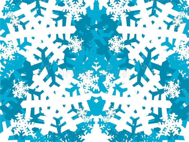 Download Blue Flakes stock illustration. Image of winter, holidays - 2471858