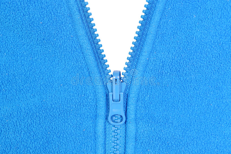 Blue fleece royalty free stock images