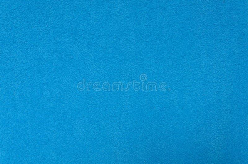 Blue fleece texture stock images