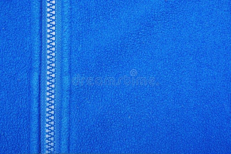 Blue fleece royalty free stock photography