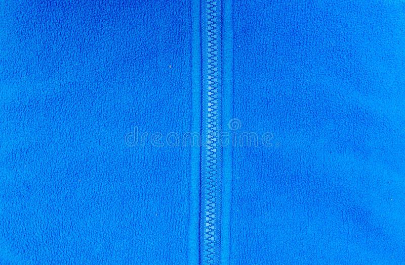Blue fleece royalty free stock photos