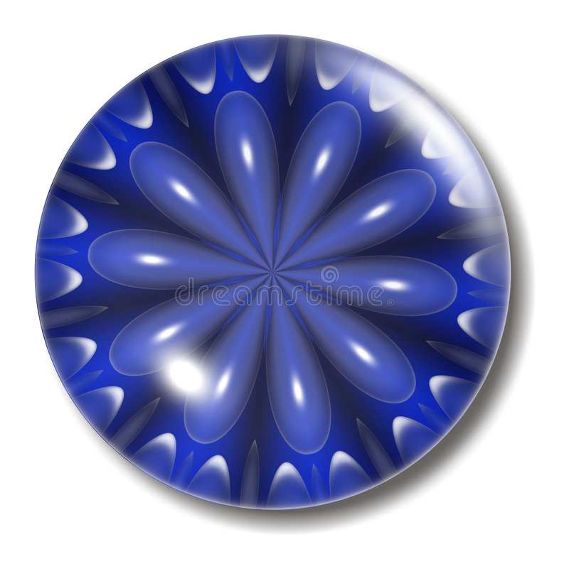 Free Blue Flower Button Orb Stock Photography - 1010272