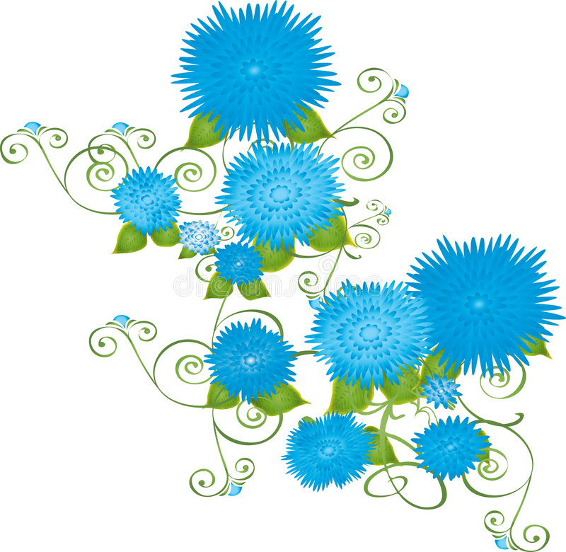 Free Blue Flowers Stock Photo - 1981370