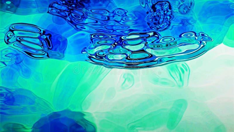 Blue Fluid 0201 Stock Photo